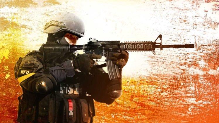 Counter Strike: Global Offensive, M4A4 HD Wallpaper Desktop Background