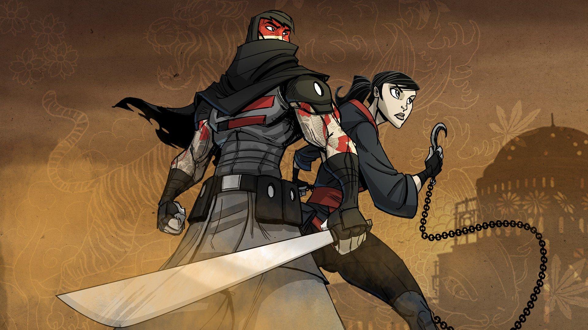 Ninjas Ninjas Warrior Mark Of The Ninja Hd Wallpapers