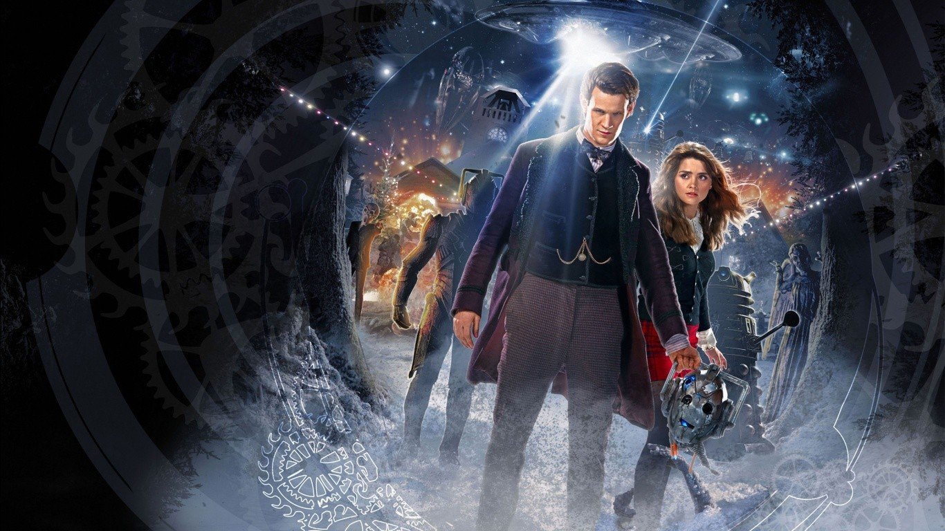 The Doctor Jenna Louise Coleman Hd Wallpapers Desktop And