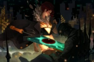 Red (Transistor), Transistor, Video games, Supergiant Games, Sword