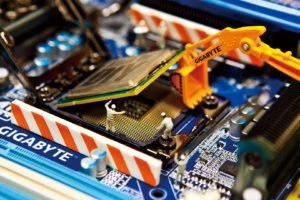 technology, Gigabyte, Macro, Processor, CPU