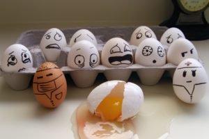 eggs, Minimalism