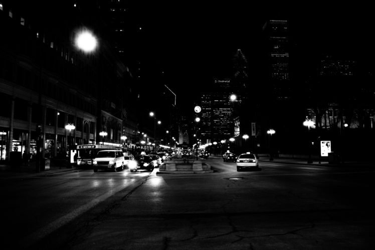 City Night Cityscape Traffic Urban Hd Wallpapers Desktop And Mobile Images Photos