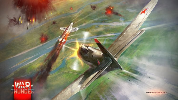 War Thunder, Gaijin Entertainment, Airplane, Video games HD Wallpaper Desktop Background