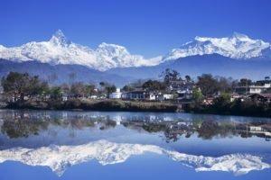 Nepal, Pokhara, Phewa Tal, Lake, Himalayas, Ghandruk, Mountains