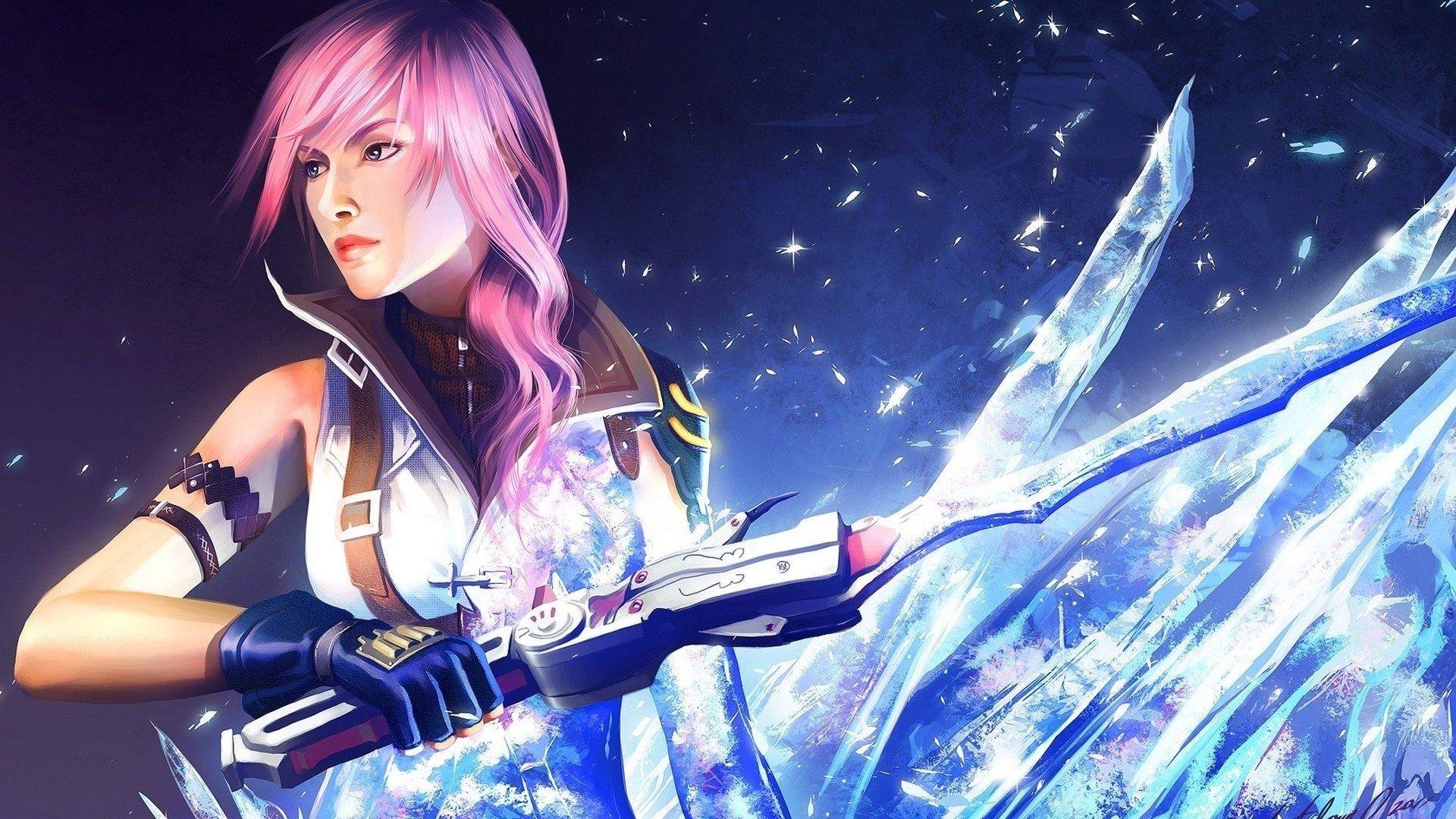 Final Fantasy XIII, Claire Farron, Video games Wallpaper