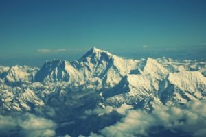 Nepal, Himalayas, Mountains, Mount Everest