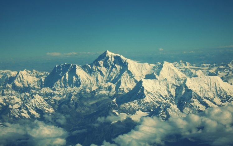 Nepal Himalayas Mountains Mount Everest Hd Wallpapers