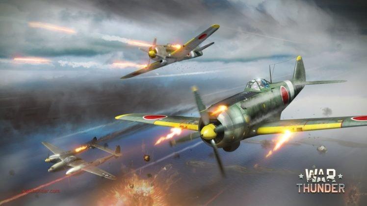 War Thunder, Airplane, Gaijin Entertainment HD Wallpaper Desktop Background