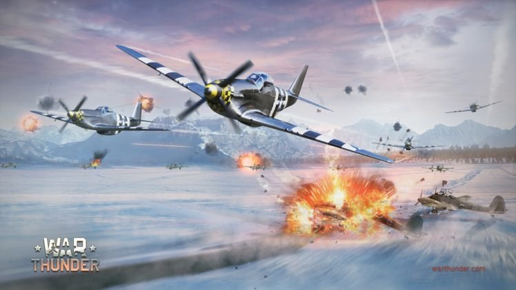 War Thunder Airplane Gaijin Entertainment North American P 51