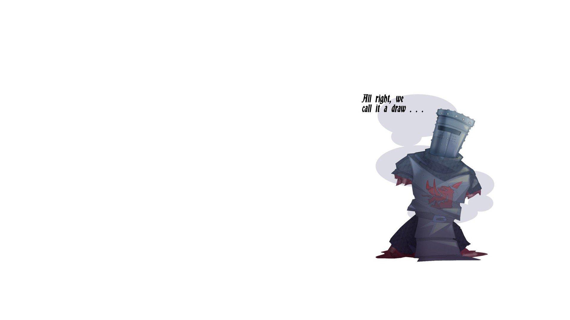 warrior, Monty Python, Minimalism, Quote Wallpaper