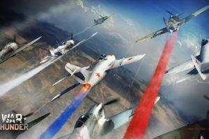 War Thunder, Russia, Airplane, Gaijin Entertainment, Contrails