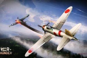 War Thunder, Airplane, Gaijin Entertainment, F6f, A6M