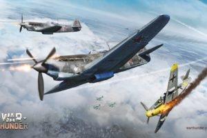 War Thunder, Airplane, Gaijin Entertainment, Bf109, Junkers Ju 87 Stuka, Video games