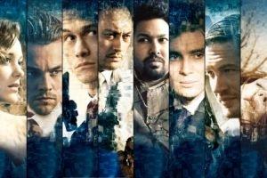 Joseph Gordon Levitt, Leonardo DiCaprio, Tom Hardy, Inception, Panels