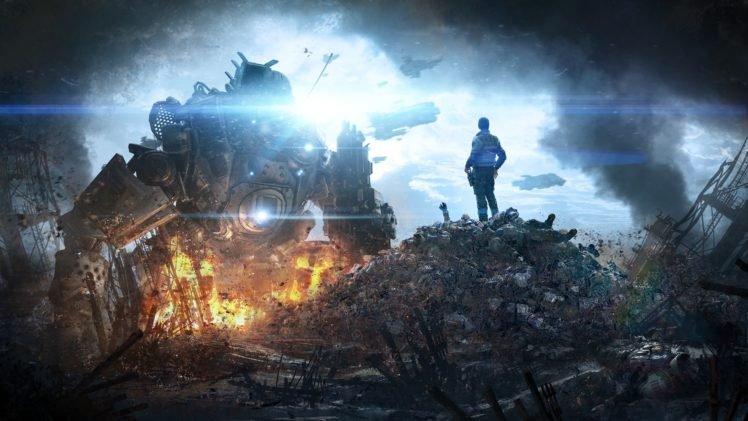 Titanfall, Video games HD Wallpaper Desktop Background