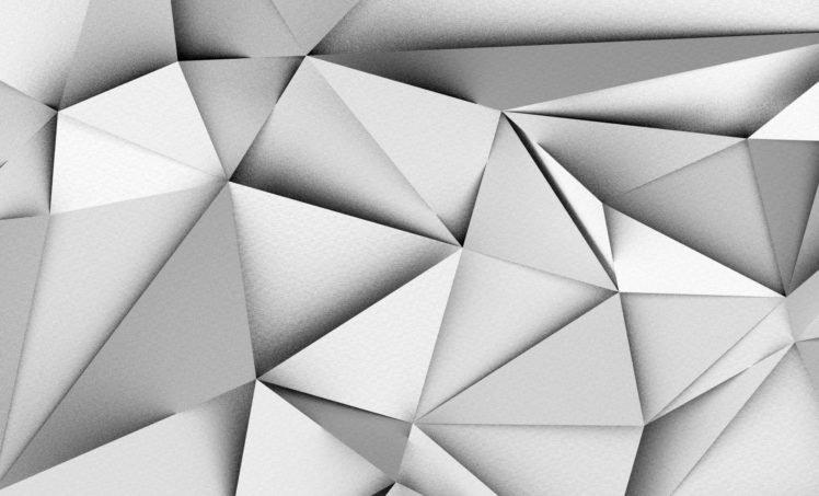 geometry, Triangle HD Wallpaper Desktop Background