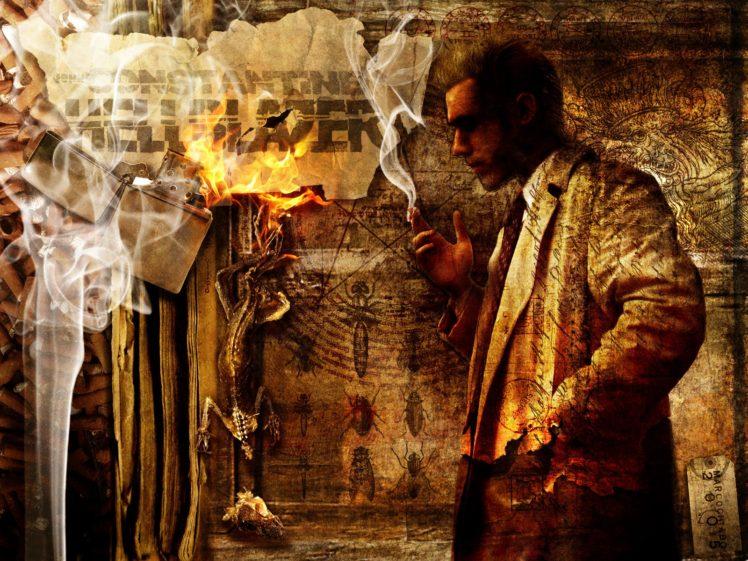 Constantine Hellblazer Comic Art Hd Wallpapers Desktop