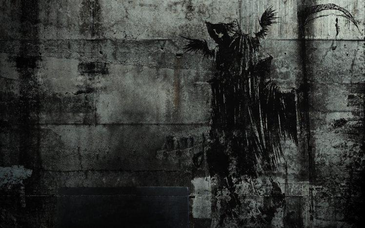 death, Graffiti HD Wallpaper Desktop Background