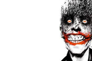 Joker, Batman, Comic art, White background
