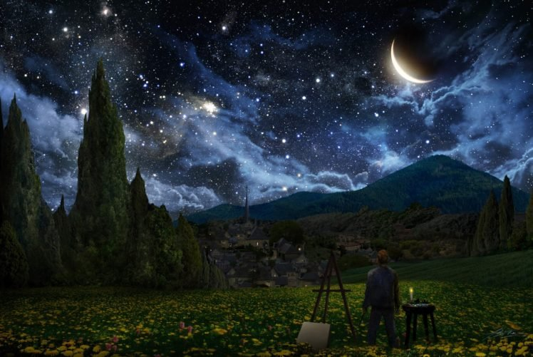 Vincent Van Gogh Starry Night The Starry Night Hd