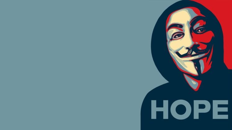 Anonymous, Hope posters HD Wallpaper Desktop Background