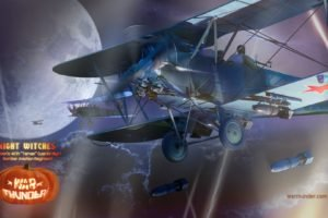 War Thunder, Airplane, Gaijin Entertainment, Halloween