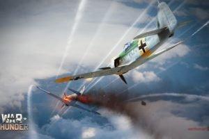 War Thunder, Airplane, Gaijin Entertainment, Focke Wulf Fw 190, Lavochkin La 5