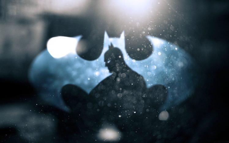 Batman, Batman logo, Batman Begins HD Wallpaper Desktop Background