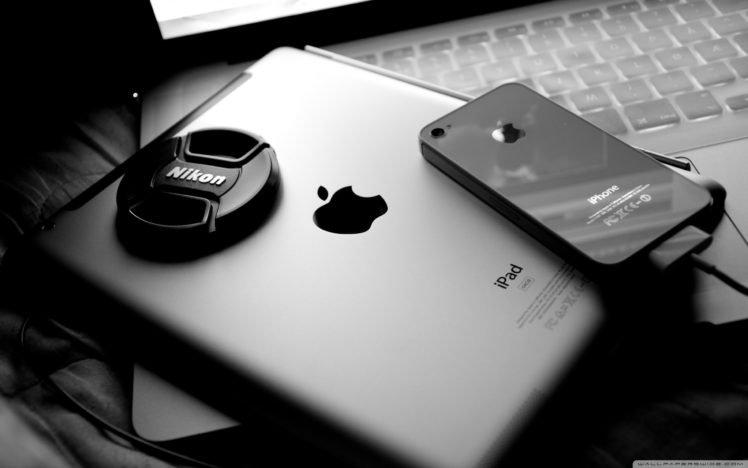Apple Inc., IPhone, Nikon, IPad, Technology, MacBook HD