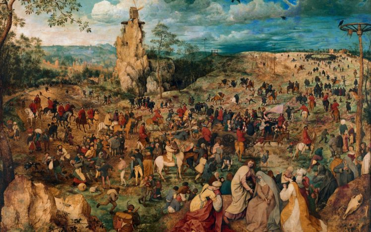 Pieter Bruegel Classic Art Painting Hd Wallpapers Desktop And