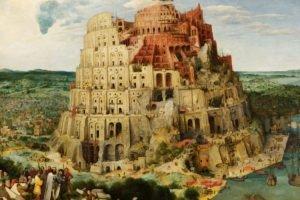 Pieter Bruegel, Tower of Babel, Classic art, Tower, Boat