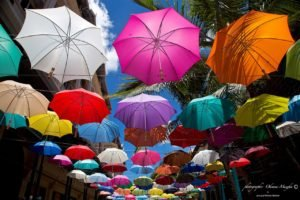 colorful, Umbrella