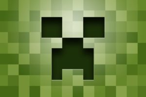 creeper, Minecraft, Green