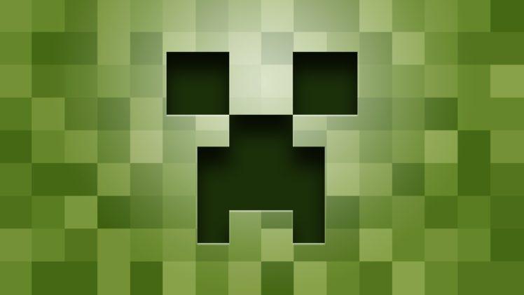 creeper, Minecraft, Green HD Wallpaper Desktop Background