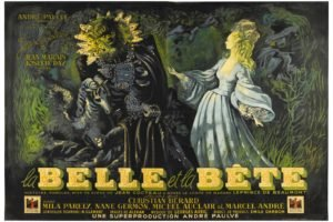 Jean Cocteau, Film posters, La Belle et la Bête, Beauty and the Beast