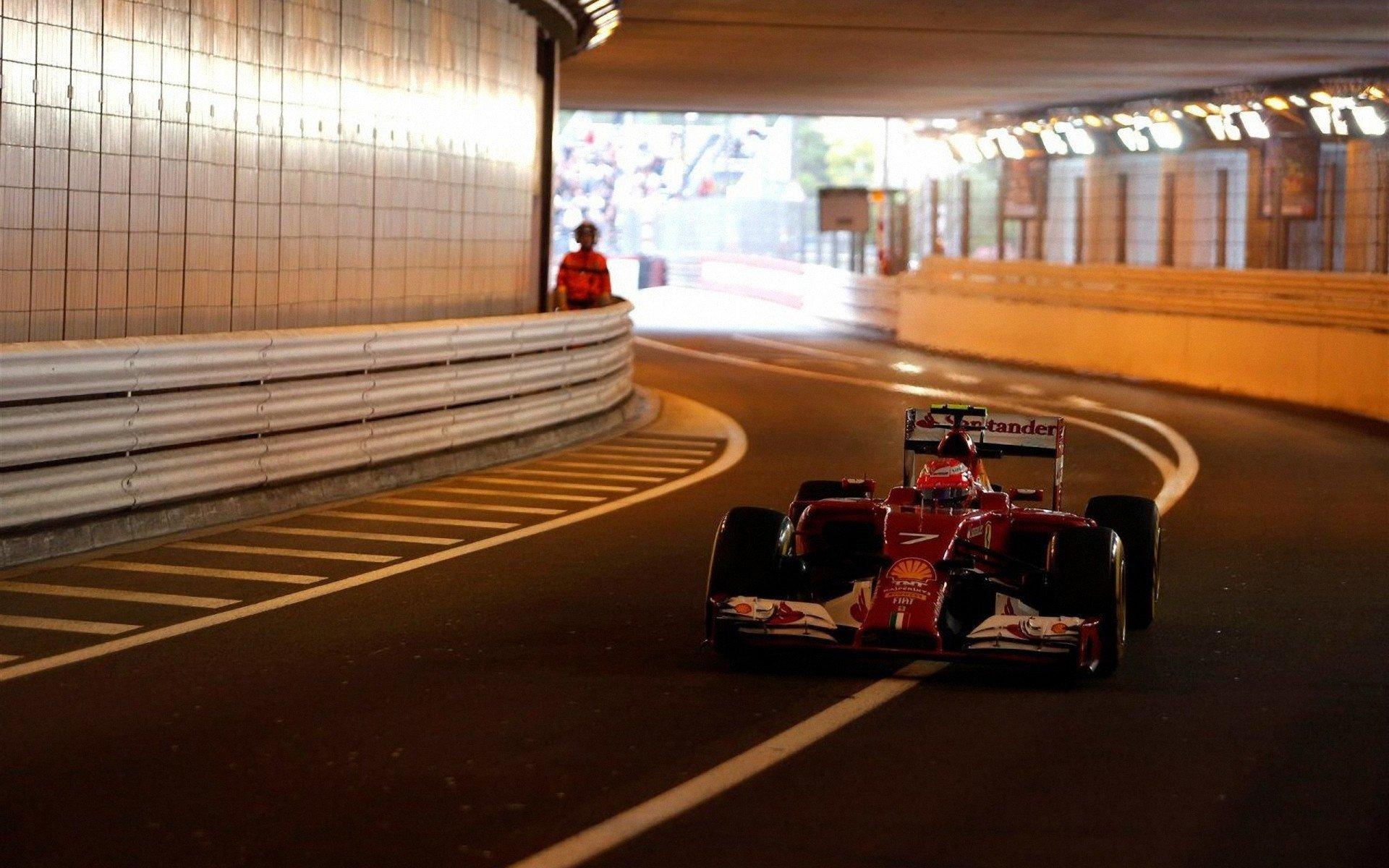 Kimi Raikkonen Scuderia Ferrari Monaco Formula 1 Italy Hd Wallpapers Desktop And Mobile Images Photos