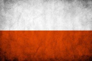 Poland, Flag, Europe