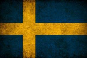 Sweden, Flag, Szwecja, Europe