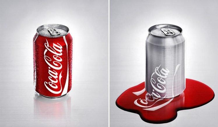 collage, Coca Cola, Can HD Wallpaper Desktop Background