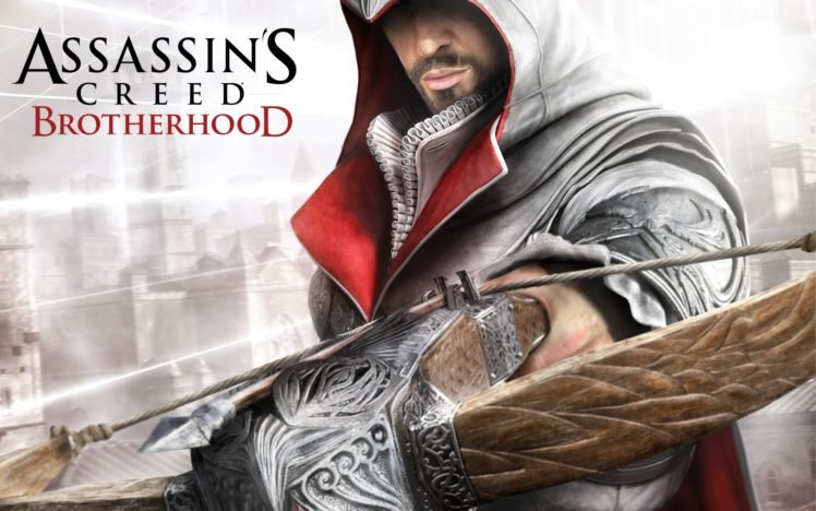 Ezio Auditore Da Firenze Assassin 039 S Creed Assassin 039 S Creed Brotherhood Hd Wallpapers Desktop And Mobile Images Photos
