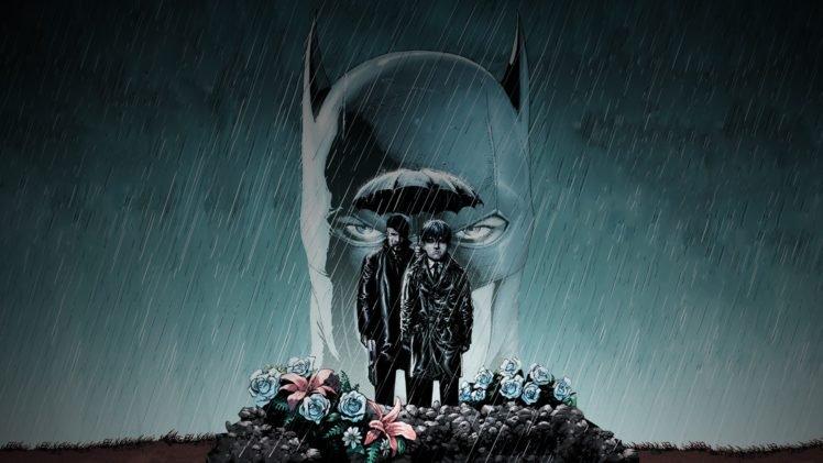 Batman, Comic art HD Wallpaper Desktop Background