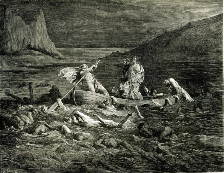 Dante Alighieri, Gustave Doré, The Divine Comedy, Dante&039;s Inferno, Classic art HD Wallpaper Desktop Background
