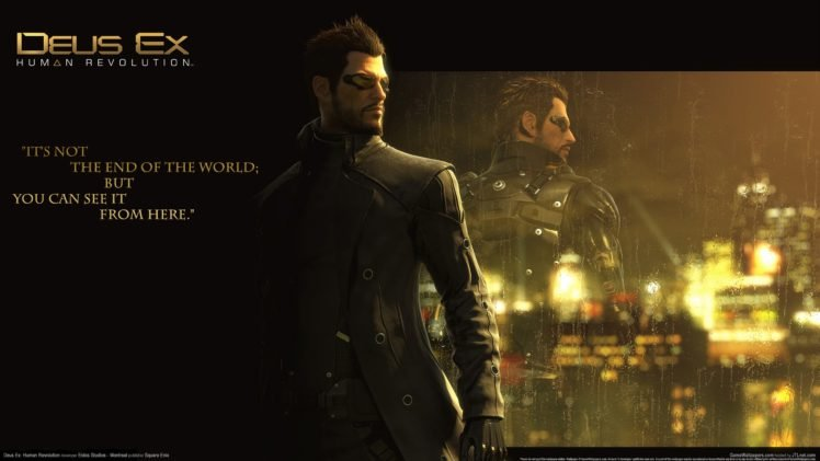 Deus Ex: Human Revolution, Deus Ex, Cyberpunk HD Wallpaper Desktop Background