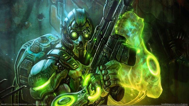 video games, Starcraft II HD Wallpaper Desktop Background