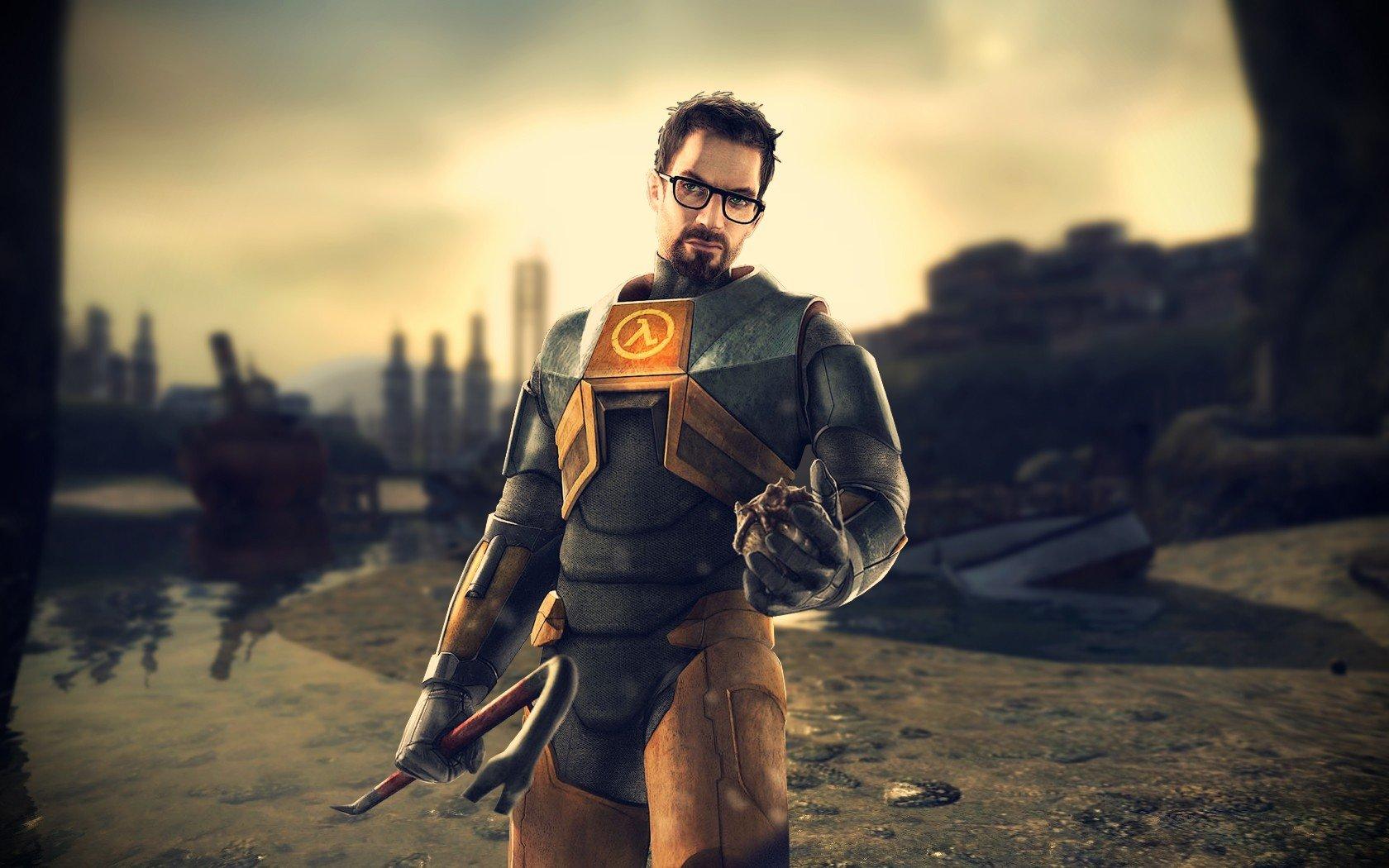 Gordon Freeman Video Games Half Life Hd Wallpapers Desktop And