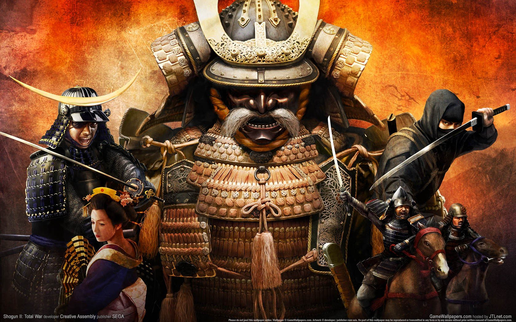 Total War: Shogun 2, Samurai HD Wallpapers / Desktop and ...