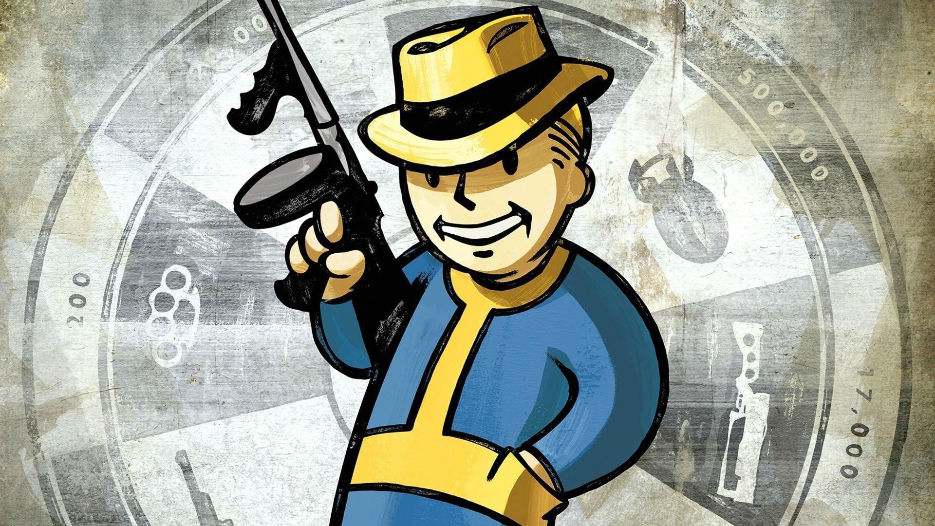video games, Fallout, Tommy gun, Pip Boy Wallpaper