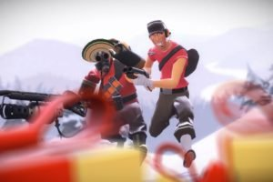 Pyro (character), Scout (character), Video games, Team Fortress 2