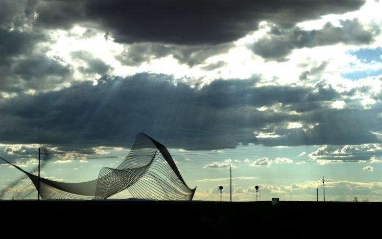 clouds, Sun HD Wallpaper Desktop Background